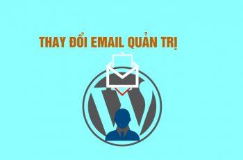 Thay đổi email quản trị WordPress