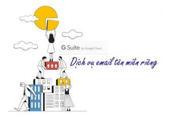 Tạo email tên miền riêng với G suite